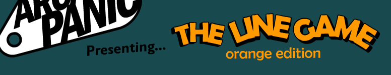 Header image for The Line Game: Orange Edition